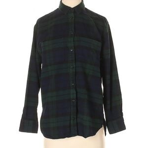 Madewell 100% Cotton Plaid Button Down